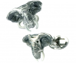 Try Elephant cufflinks for a zoo charity event.