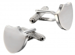 Shield cufflinks are great for weddings