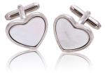 White Heart cufflinks