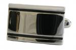 Double Striped Engravable cufflinks
