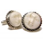 Sun and Moon Face cufflinks - beautiful holiday options