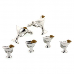 Martini Glass Stud Set