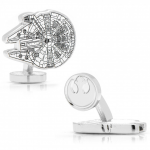 Millennium Falcon Blueprint cufflinks (Star Wars)