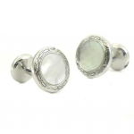 BAADE Mother of Pearl Cufflinks