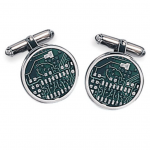Sterling Motherboard Cufflinks