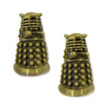 Dr. Who Dalek Cufflinks are great Valentine's Day gifts for Dr. Who fans