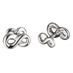 Sterling Infinity Cufflinks - share your forever love