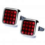Ruby Diamond Cufflinks - the perfect Valentine's Day gift