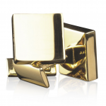 The award goes to Skultuna Gold Square Cufflinks