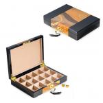 15 Pair Black Lacquer Box