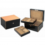 Fiddleback Maple Wood Case - care for your cufflinks