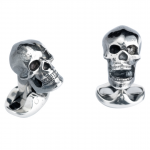 Sterling Jaw Skull Cuff Links Deakin & Francis