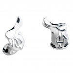 Deakin and Francis Horse Saddle Cufflinks