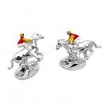 Jockey & Horse Cufflinks