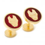Red Enamel Iron Man Cufflinks