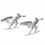 Sterling Surfer Summer Cufflinks