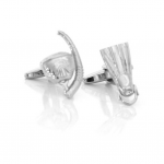 Diving Mask and Fin Summer Cufflinks