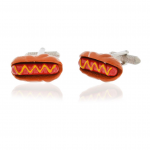 Hot Dog Cuff Links