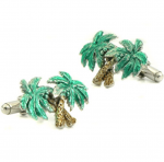 Swaying Palm Trees Cufflinks
