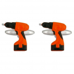 Power Drill Cufflinks for Labor Day