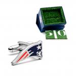 New England Patriots Cutout Cufflinks