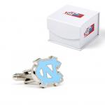 North Carolina Tar Heels Logo Cufflinks