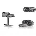 Sterling Shoe & Shoe Horn Cufflinks by Robin Rotenier