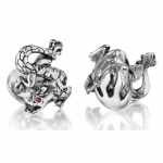 Dragon and Flame Cuff Links by Robin Rotenier