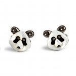 Darwin Panda Cufflinks by Simon Carter