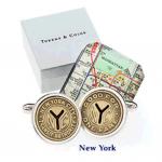 New York Subway Token Cufflinks (Tokens & Icons)