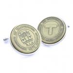 Boston Transit Token Cufflink (Tokens & Icons)