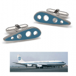 Boeing 707 Cufflinks (Tokens & Icons)
