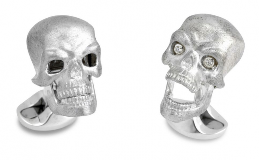 5 Spooky Halloween Cufflinks Sure to Scare Your Socks Off