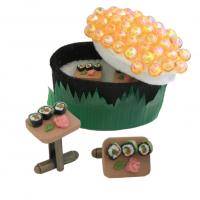 Artisan Sushi Cufflinks