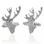 Pewter Stag Cufflinks for Christmas