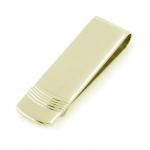 Gold Engravable Money Clip
