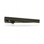 Gunmetal Textured Stripe Tie Bar