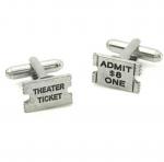 Movie Ticket Cufflinks