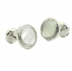 Baade Mother of Pearl Cufflinks - Classic Oscars