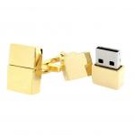 Gold 16GB USB Thumb Drive Cufflinks