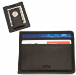 Chicago Cubs Game Played Baseball Money Clip Wallet