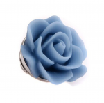 Blue Rose Lapel Pin for Mothers Day