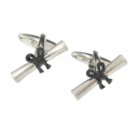 Graduation Scroll Cufflinks