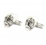 Firefighter's Helmet Cufflinks