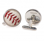 MLB Team Specific Baseball Cufflinks