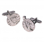 Statue of Liberty Round Cufflinks