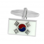 South Korean Flag Cufflinks