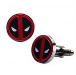 Deadpool Gunmetal Cufflinks