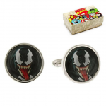 Venom Face Cufflinks
