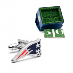 New England Patriots Cutout Cufflinks
